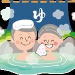 中温作用、入浴